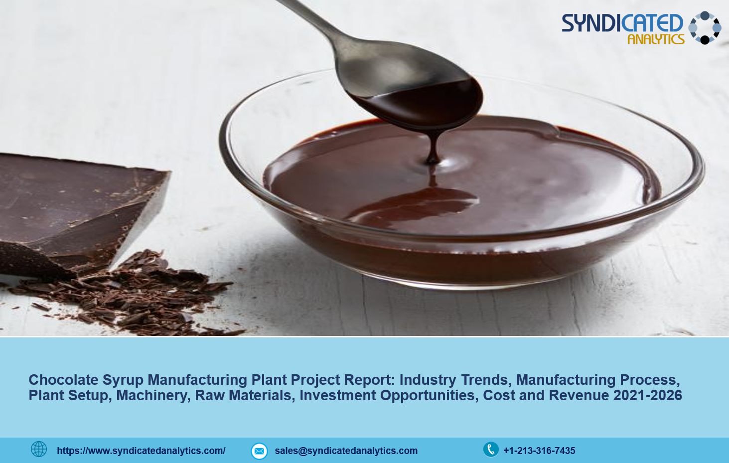 Chocolate Syrup Manufacturing Plant